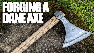 FORGING A VIKING DANE AXE