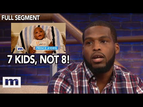 I didn't have symptoms when you were pregnant!   The Maury Show