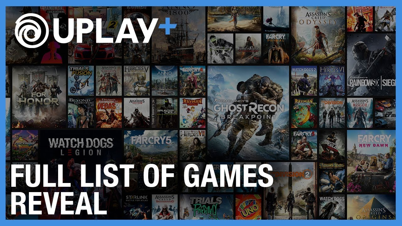 Full List Of Games Coming To Uplay Revealed