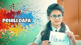 Pehli dafa ( Video Song)   Cute Love Story   Latest Hindi Video Song 2020  Brightvision