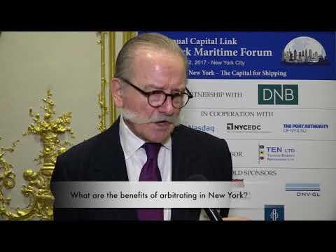 2017 9th Annual New York Maritime Forum - Mr. David Martowski Interview