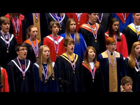 2013 Iowa AllState Chorus: Zadok the Priest