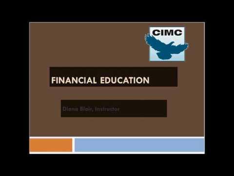 Financial Education Lesson 1