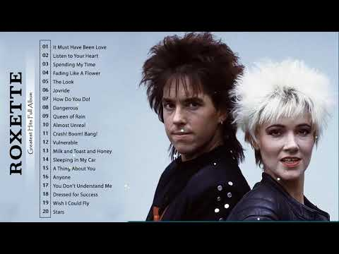 Roxette Greatest Hits Full Album🎸Best Songs Of Roxette 🎸Roxette Collection 2021 🎸Roxette Playlist