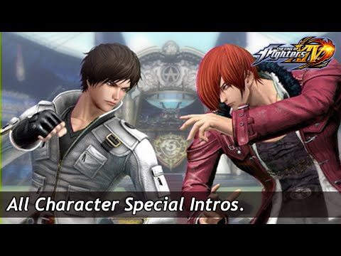 KOF XIV : All Special Intros
