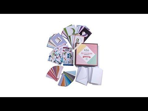 3 Birds Studio Iris Paper Folding Cardmaking Kit
