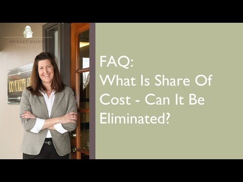 Med-Cal FAQ: What Is Share Of Cost? Can I Eliminate It?