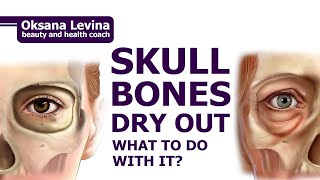 With age our bones dry out and our skull is decreasing. facial massage that prevent skull drying