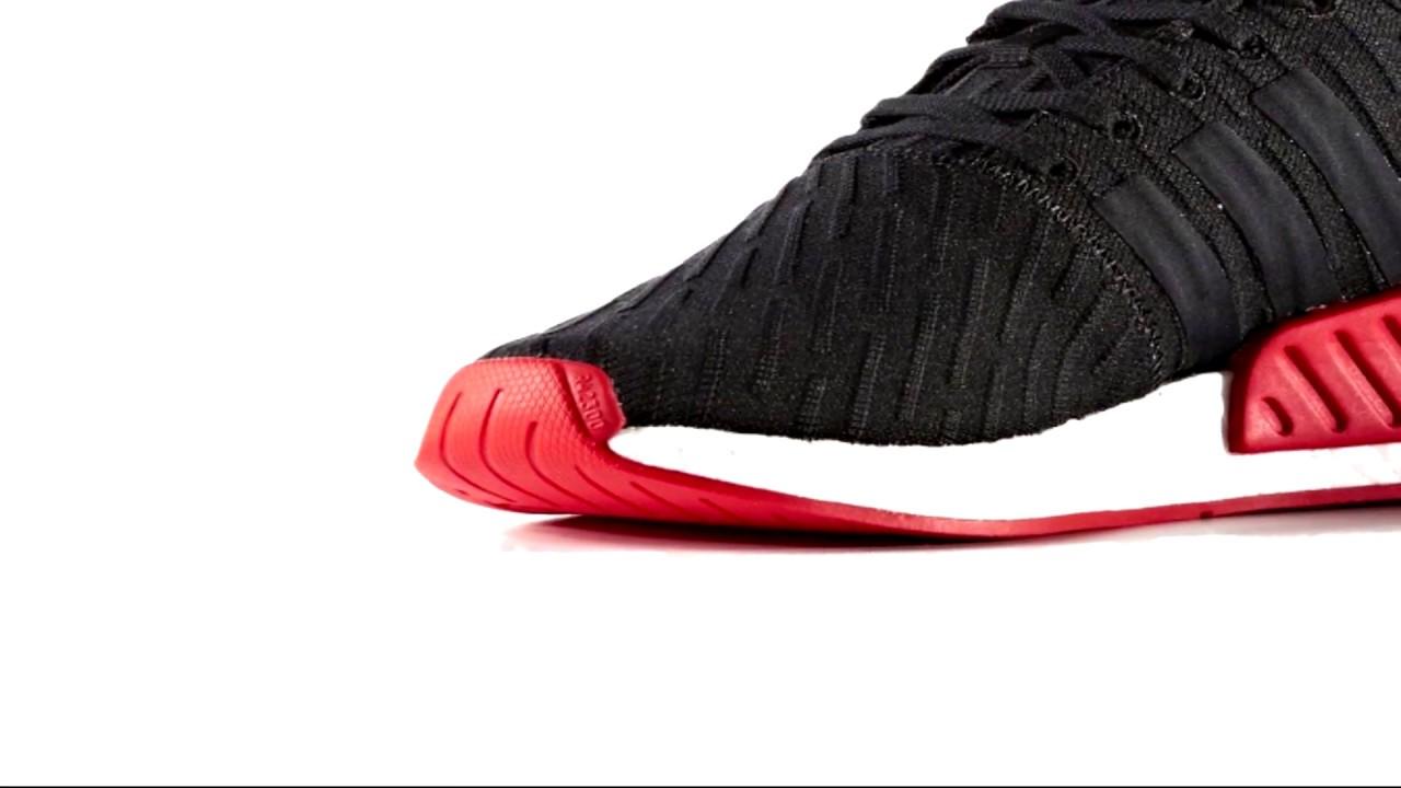 Adidas Originals NMD R2 Primeknit Core Black TRČS BIEN