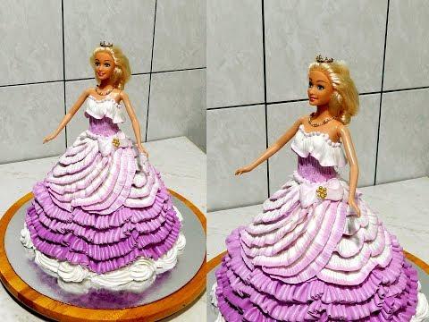 ТОРТ БАРБИ  от СЛАДКАЯ КРАСОТА, How To Make Barbie Doll Cake