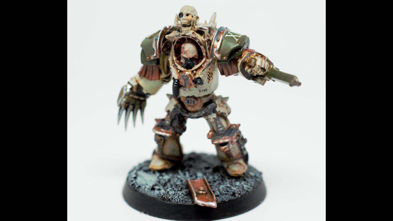 Colour Schemes Death Guard Terminators Showcase Youtube