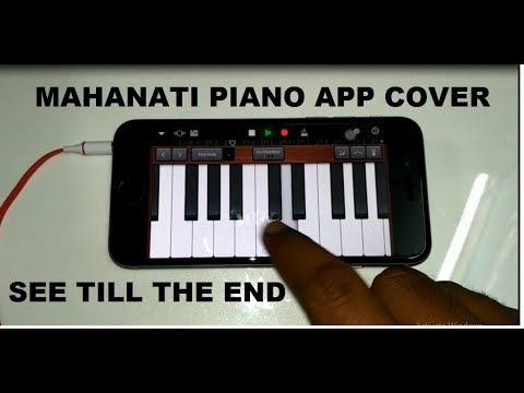 Mahanati Title Song Awesome Piano App Cover..