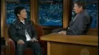 Jackie Chan Forbidden Kingdom Action Interview