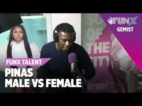 PINAS - INSIDE HER | FUNX TALENT MALE VS FEMALE