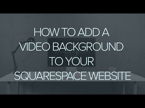 How to add a  banner to your Squarespace Website