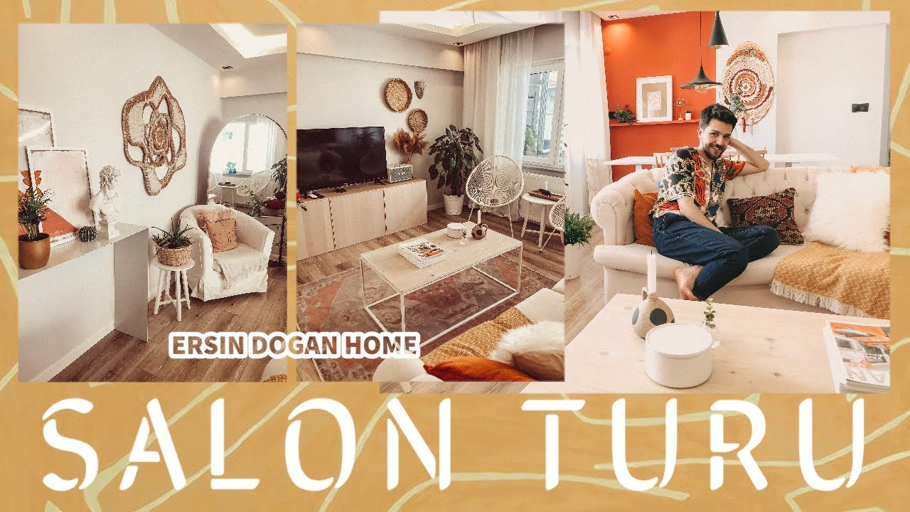 SALON TURU! Neyi nereden aldım? Cozy / Bohem / Dekorasyon Fikirleri - Ersin Dogan Home