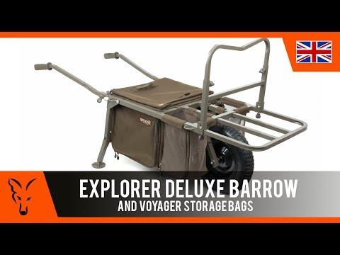 ***CARP FISHING TV*** Explorer Deluxe Barrow + Large Cooler/Cooler/storage bag
