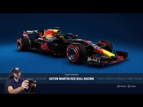 F1 Гран-При Германии 2019 (учим трассу Хоккенхаймринг)