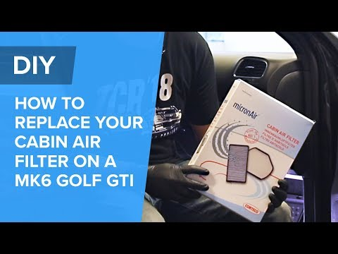 How To Replace Your Cabin Air Filter – Volkswagen MK6 Golf GTI (EOS, Jetta, Beetle, A3, S3)