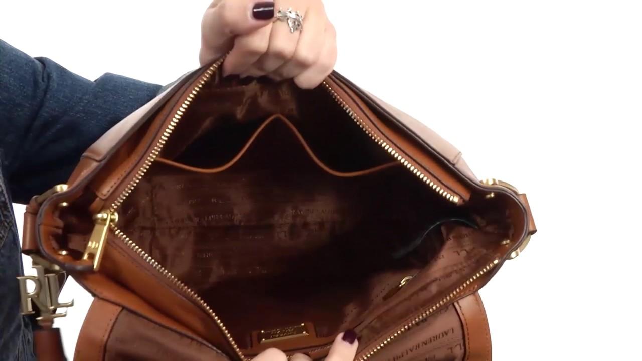 823e8c9737 LAUREN Ralph Lauren Ashfield Amari Saddle Bag SKU 8853479 - YouTube