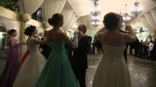 Вальс знакомств на Рождественском балу РПУ www.rpu-dance.ru