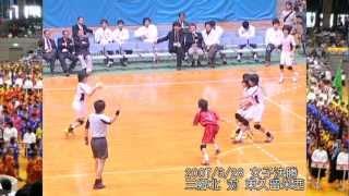 2007/3/28 平成18年度第2回春中ハンド2女子決勝後半