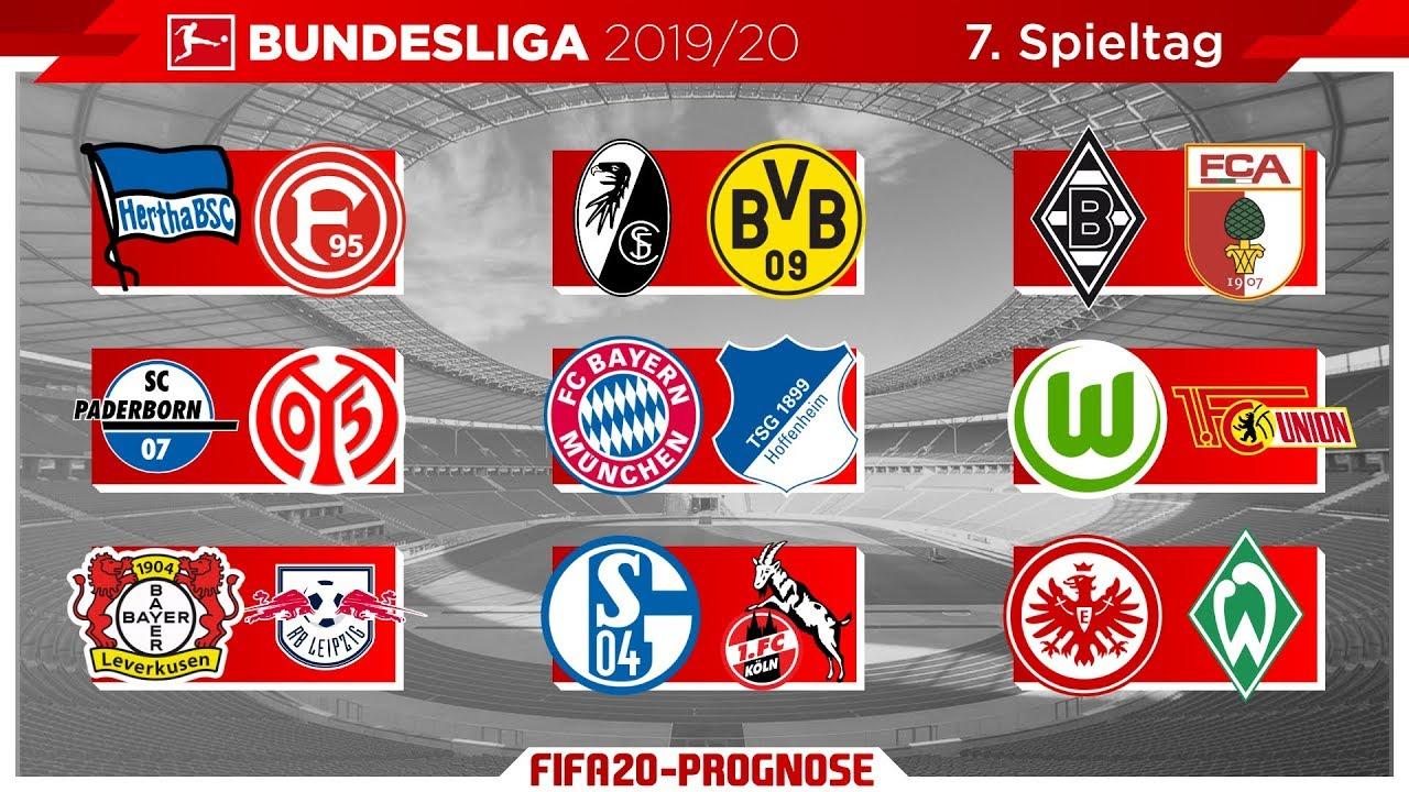 Spieltag 7 Bundesliga