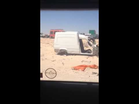 Nomen's land Morocco - Mauretania