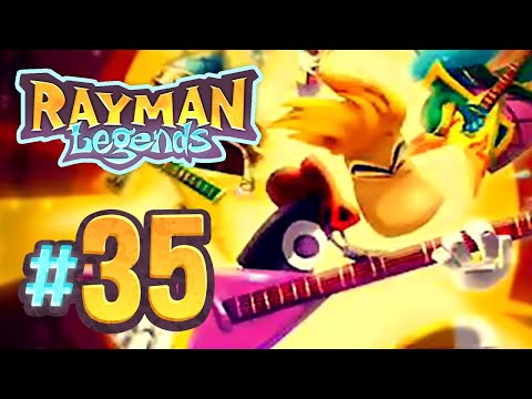 Rayman Legends | Living Dead Party: Grannies, Castle Rock, Orchestral Chaos, Mariachi Madness - 35
