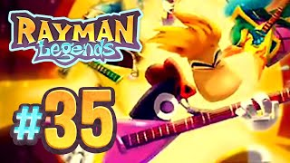 Rayman Legends - 35 - Living Dead Party: 8-bit Castle Rock, Orchestral Chaos, Mariachi Madness