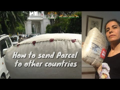 How to send parcel to Europe from India by India post.