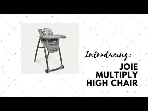 Product Review: Joie Multiply 6-in-1 Highchair Top Highchair!