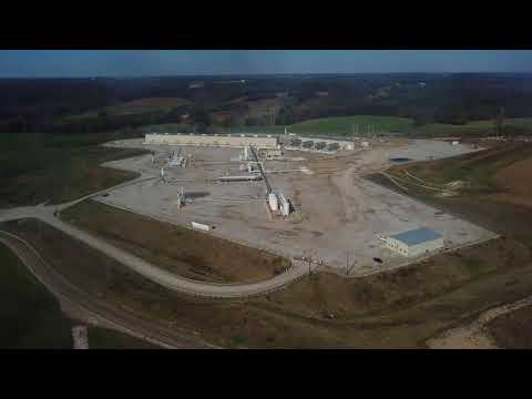 CGS's Natural Gas Compressor Station in Carroll County, Ohio OH