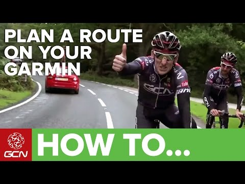 How To Plan A Route Using Your Garmin