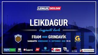 Fram - Grindavík  Lengjudeildin    FramTV