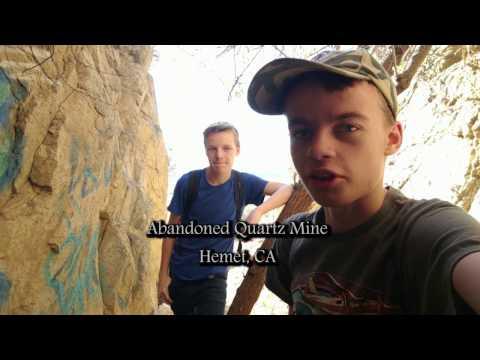 Exploring An Abandoned Quartz Mine In Hemet, CA