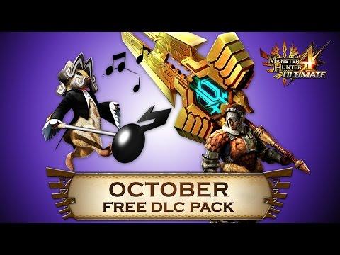 Monster Hunter 4 Ultimate - October DLC Pack