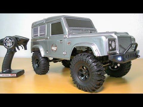 FM ELECTRICS FMR-X2 RC CRAWLER SCALER RTR LED LIGHTS UNBOXING!! *LAND ROVER DEFENDER