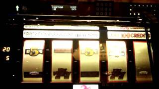 Bonus with two-level Progressive Win on Triple 777 2-cent slot - Red Hot Jackpots Progressive - IGT