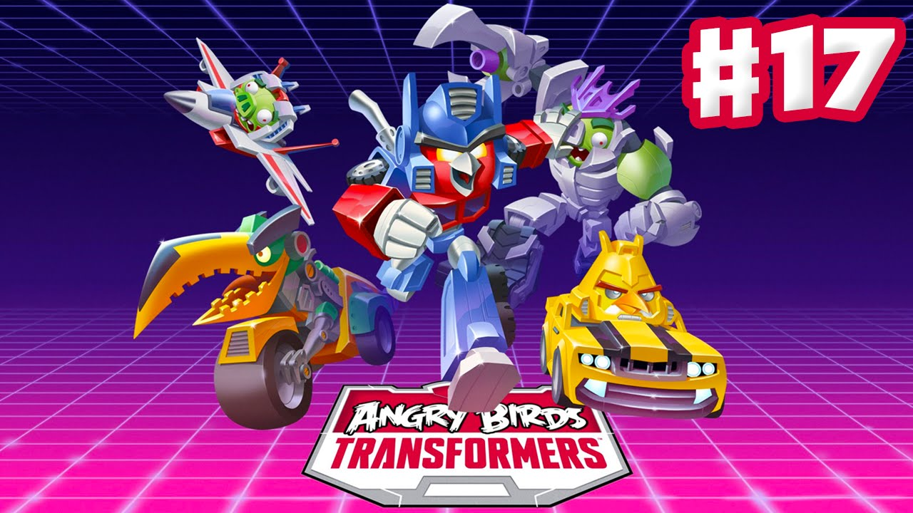 Angry Birds Transformers - Gameplay Walkthrough Part 17 - Thundercracker  Rescued! (iOS)