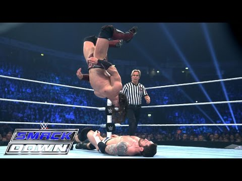 Neville Vs. King Barrett – WWE World Heavyweight Championtitel Turnier: SmackDown – 12. Nov. 2015