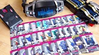 39枚の全音声を確認!プレバン限定 CSMディエンドライバー & ディエンベルト 付属の全ライダーカードをレビュー!コンセレ 仮面ライダーディエンド