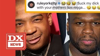 Ja Rule Claps Back At 50 Cent For Saying He