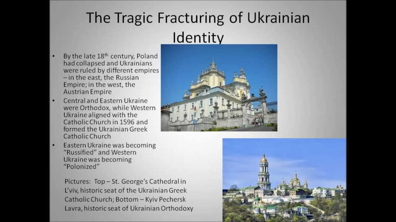a historical overview of ukraine and the ukrainian national sentiment A day away from new government, ukraine seeks stability ukrainian leaders are struggling to return the country to some kind of peace they plan to form a new government thursday, even as separatist sentiment simmers in.