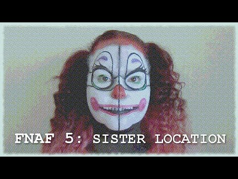 FNAF5: Sister Location   Baby Makeup Tutorial