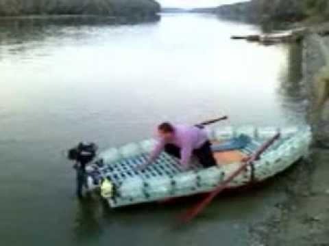 Как сделать лодку из бутылки своими руками 419