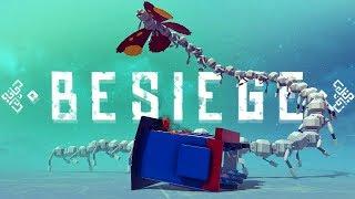 Nightmare Inducing Meme Machines - Giant Destructible Tower & More! - Besiege Best Creations