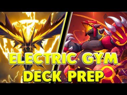Pokemon Duel - ELECTRIC GYM DECK PREP - ELECTRIC +1MP/GROUND +20AP