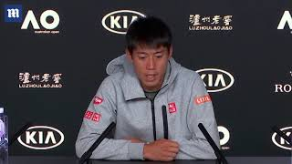 Kei Nishikori says leg injury forced him to retire vs Djokovic