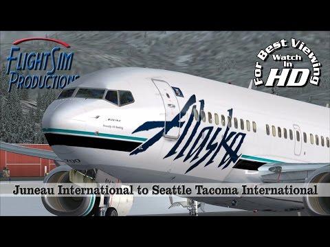 Juneau International to Seattle Tacoma International